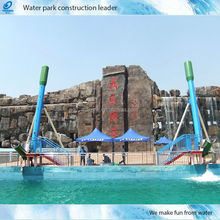 Amusement Park Water Slide of Play Equipment for sale(HT-33)