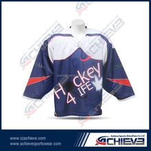 ice hockey jersey for school league