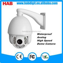 700TVL 18X Optical Zoom Analog Waterproof High speed dome camera
