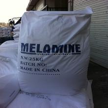 Tech grade 25kg/bag dying Melamine all over the world