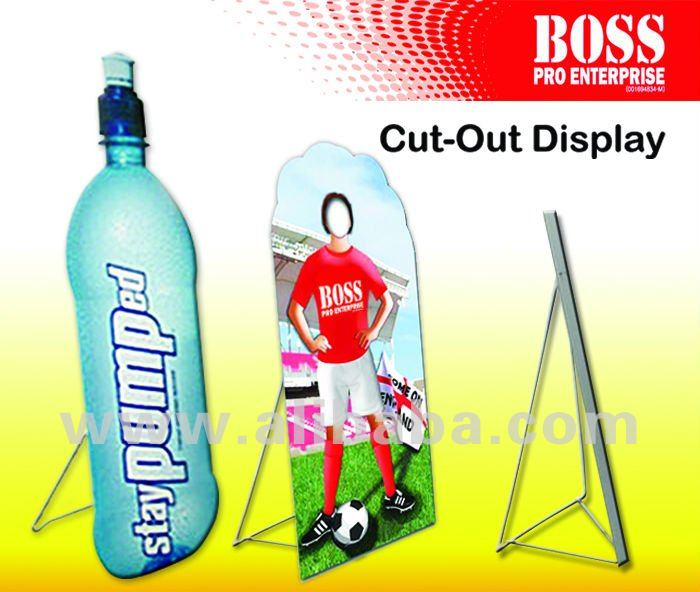 how to make a display board stand out