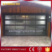 YQGD0022 aluminum garage glass door, manufacturer chamberlain residential garage door opener