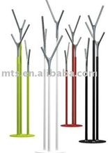new type tree style metal Colourful coat hanging stand