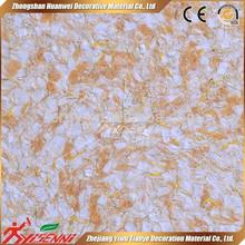 Zhejiang Yiwu YISENNI nuevos productos innovadores interior yeso de seda pintura de la pared del papel pintado