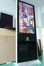 """42"""" shopping mall or airport stand digital signage with waterproof"""