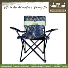 TA7-003 New product outdoor furniture 600D PVC camo folding fabric chair portable capming chair for sale