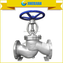 WCB stainless steel globe valve dimensions