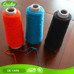 Factory direct high quality open end recycled 2 ply cotton yarn for knitting