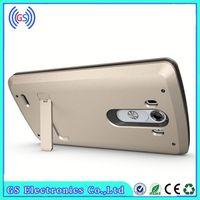 Hybrid Shockproof Desk Stand Blank Cell Phone Case For LG G4