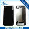 High Quality back housing for iPhone 4s, back glass cover for iPhone 4&4S back glass