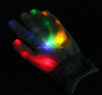 2015 Flashing LED As Rave Party Glove Gift Item