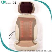Green environmental protection sheepskin car seat cushion