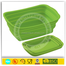 18-26cm good quality silicone stainless steel anti skid bowl/deep mix bowl/footed bowl