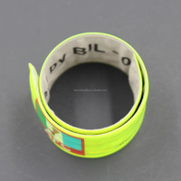 Reflective Slap Wrap/Silicone Wristband/PVC Reflex Band Slap for Wholesale
