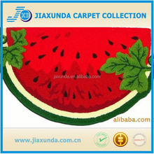 Red water melon hot sale beautiful good quality kids room carpet
