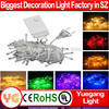 CE ROHS approved 10m 100led IP44~65 8 function led chasing christmas lights led cluster christmas decoration gift box led light