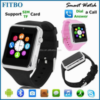 Wifi wrist watch cell phone for Iphone/Samsung Galaxy S4 S5 S6, Pedometer Camera