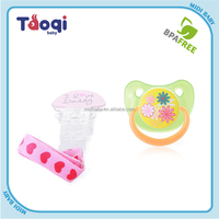 2015 New Baby Pacifiers Colorful Baby Funny Pacifier With Clip