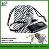 Stylish Custom Logo Printing Wrist Bag Mobile Phone Pouch