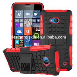 colorful armor case for Nokia 640, plastic case for lumia 640