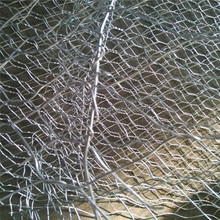 Slope Stabilization Geotechnical Mesh With High Tensile Wire Mesh Tecco Mesh