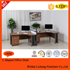 Desktop computers office furniture desks computer desk L shape desk