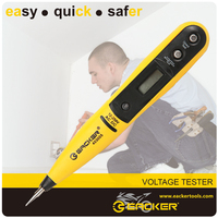Super Display Electric Circuit Voice Voltage Tester Pen Detector Screwdriver