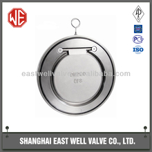 East Well cs single plate check valve, wafer type, Professional Leading Manufacturer in Shanghai