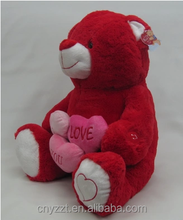 plush stuffed Teddy bear 200cm/300cm teddy bear plush toy with heart/2 meters giant plush teddy bear