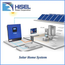HiSEL pure sine wave power inverter 5k Solar Power 2015 new products in china
