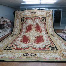 Hand Made Chinese Area Aubusson Rugs For Sale