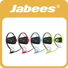 Manos libres Jabees aptX V4.1, Audifonos deportivos inalambricos Bluetooth a prueba de agua con micrófono