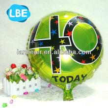 unique wholesale birthday greeting mylar balloon
