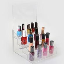 Manufacture acrylic nail polish bottle display holder, nail polish display stand