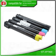 XP7800, Use for XeroxPhaser 7800/7800DN/7800DX/7800GX, OEM code: 106R01566/67/68/69