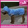 fashion 4 colors polyester dog raincoat waterproof pet clothing raincoat