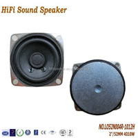 2Inch 52mm 10W 4 ohm Active Multimedia Speaker System with Good Quality