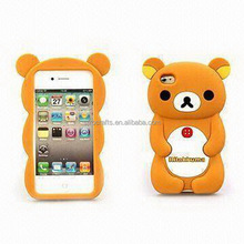 Fashionable hot sell funny camera design silicone phone cases