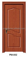 fashion pvc laminated mdf wooden room door design