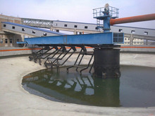 Thickening equipment for coal--thickener with central transmission