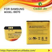 mobile phone battery, gold battery for B9120/W789/S Advance/I659 /i9070 /i9070P