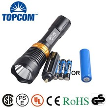 TP-57 Aluminum XPE LED Underwater Torch for Diving