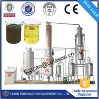 Low price large capacity Waste Oil Purifier(change Black Oil to Base Oil)