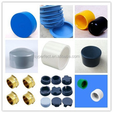 Rubber end caps for pipe ,end caps for aluminum railings