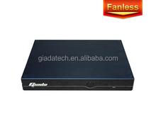 Fanless Silent Operation mini pc F102D Intel Atom N2600 Processor with dual Gigabit Ethernet