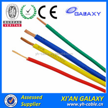 450/750V Solid Core Copper Wire PVC Insulated Electrical Cable 1.5mm 2.5mm