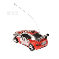 Free Shipping New Fashion Coke Can Mini RC Radio Remote Control Micro Racing Car Toy Gift