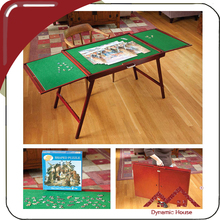 NEW non slip felt portable folding wooden Jigsaw puzzles collapsible play table