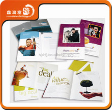 Chinese product costom full color coupon book printing