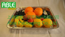 Made in China Aluminum disposable lunch tray
